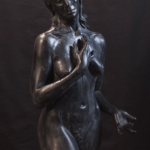 "Acceptance, Fiberglass/Resin/Bronze, 42""x24""x22"