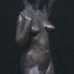 "Struggle, Fiberglass/Resin/Bronze, 42""x24""x18"""